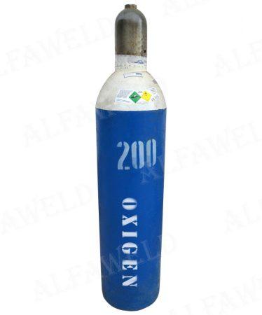 Oxigén töltött palack: 4 m³