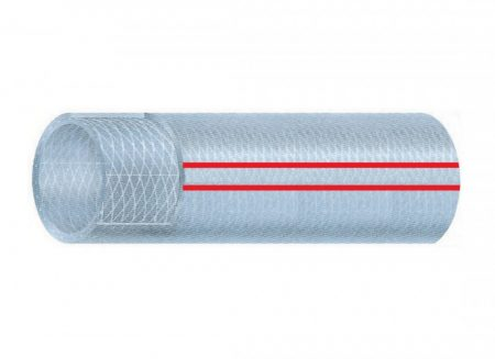Tömlő PVC szövetbetétes 6/11mm