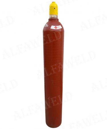 Acetilén (dissous) töltött palack: 10kg