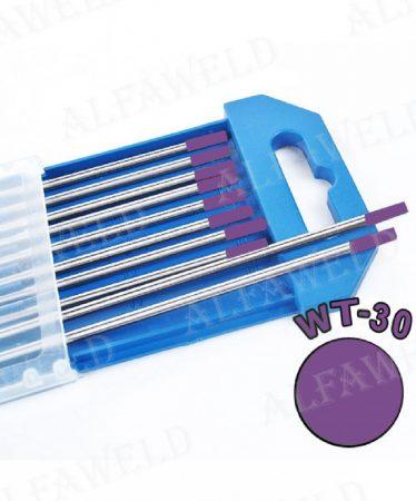 Wolfram elektróda WT30 lila - Ø 2.0 x 175 mm
