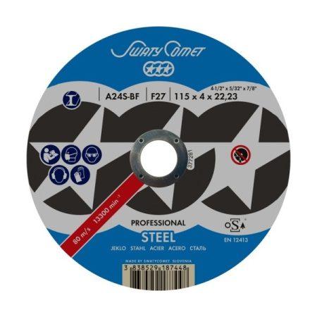Tisztítókorong fémre: Ø 125 mm