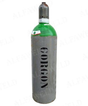 Corgon kevert gázhoz palack test: 4.3 m³