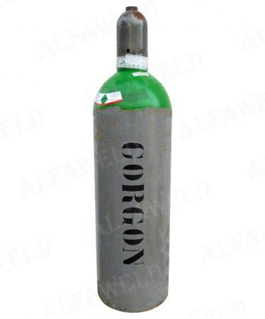 Corgon kevert gázhoz töltött palack: 4.3 m³