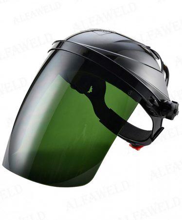 Homlokpántos arcvédő zöld FM02