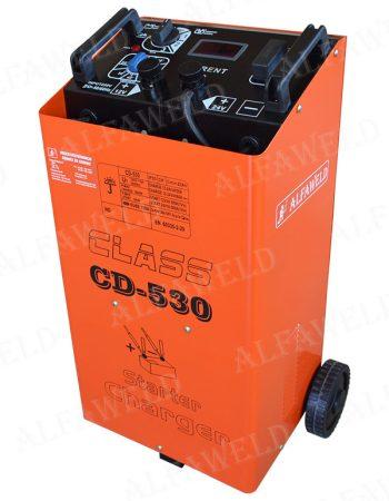 CLASS CD-530 Akkumulátortöltő és indító