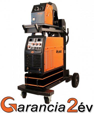 Jasic MIG 500 (N221) inverteres hegesztőgép+külső toló, hegesztőkocsi
