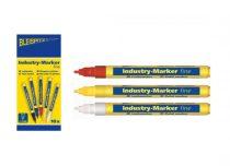 BLEISPITZ festékes, ipari jelölőfilc d1,0-2,0mm fehér
