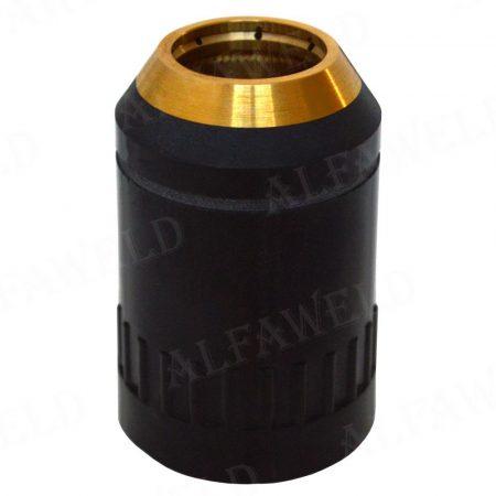 A141 TRAFIMET zárókupak fekete plazmavágó pisztolyhoz PC0101