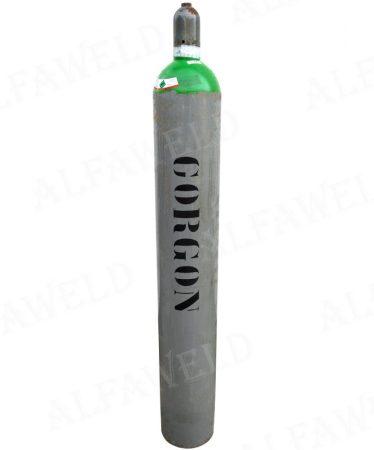 Corgon kevert gázhoz töltött palack: 10.7 m³