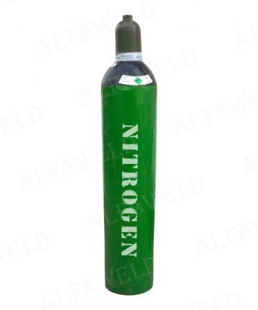 Nitrogén töltött palack: 4,3 m³