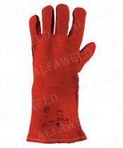 Hegesztőkesztyű 2633 Szuper Kevlar-ral bélelt-piros
