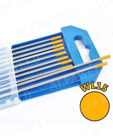 Wolfram elektróda WL15 arany - Ø 2.0 x 175 mm