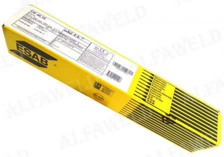 ESAB OK 46.16 rutilos elektróda -  Ø: 3.2mm / 5Kg