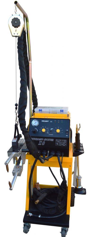 SPOTTER SOLARY X8 karosszéria ponthegesztő és horpadáskihúzó készülék