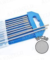 Wolfram elektróda WC20 szürke - Ø 3.2 x 175 mm